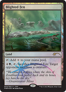 Blighted Fen (FNM Promo)