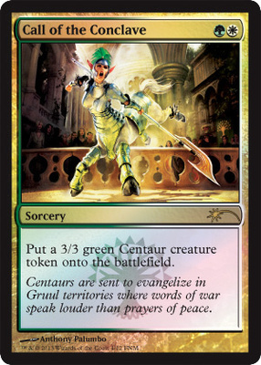 Call of the Conclave (FNM Promo)