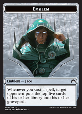 Emblem (Jace, Telepath Unbound) - Magic Origins