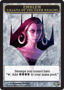 Emblem (Liliana of the Dark Realms)