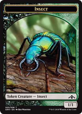 Insect Token - Guilds of Ravnica