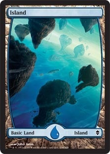 Island - Zendikar (234) (FOIL)