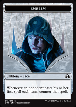 Emblem - Jace - Shadows Over Innistrad
