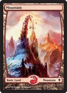 Mountain - Zendikar (244)