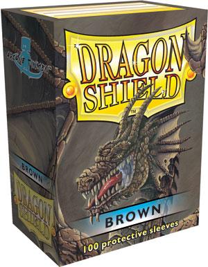 Dragon Shield - Brown