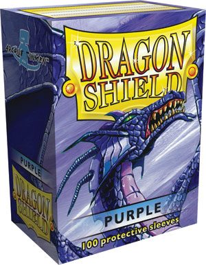Dragon Shield - Purple