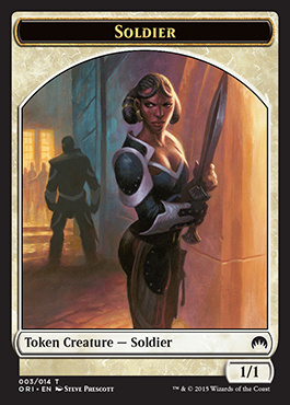 Soldier Token - Magic Origins