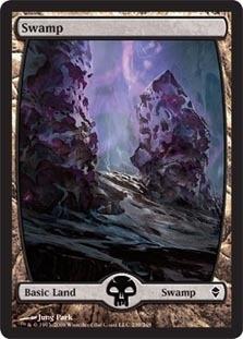 Swamp - Zendikar (239)