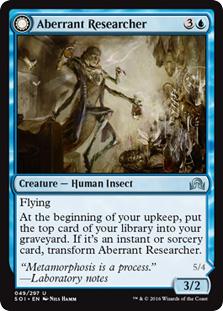 Aberrant Researcher - Perfected Form (FOIL)