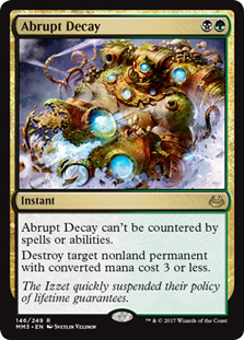 Abrupt Decay (FOIL)