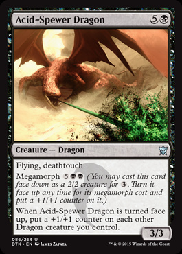 Acid-Spewer Dragon (FOIL)