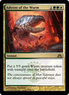 Advent of the Wurm (FOIL)