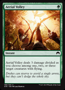 Aerial Volley (FOIL)