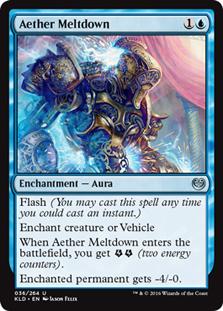 Aether Meltdown (FOIL)