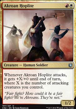 Akroan Hoplite (FOIL)