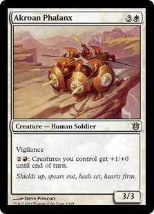 Akroan Phalanx (FOIL)