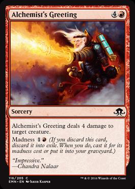Alchemist's Greeting (FOIL)
