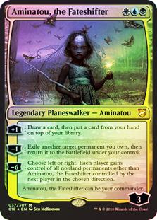 Aminatou, the Fateshifter (FOIL)