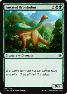Ancient Brontodon (FOIL)