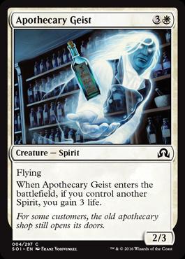 Apothecary Geist (FOIL)