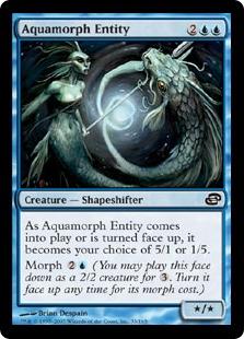 Aquamorph Entity (FOIL)