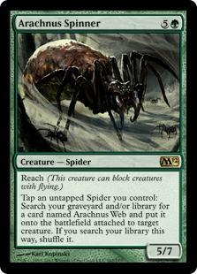 Arachnus Spinner (FOIL)