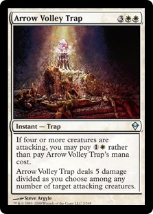 Arrow Volley Trap (FOIL)