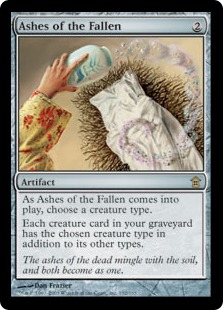 Ashes of the Fallen (FOIL)