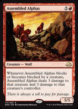Assembled Alphas (FOIL)