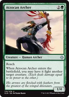 Atzocan Archer (FOIL)