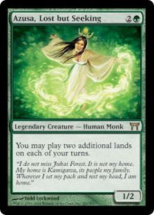 Azusa, Lost but Seeking (FOIL)