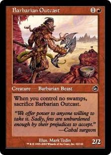 Barbarian Outcast (FOIL)
