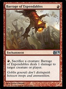 Barrage of Expendables (FOIL)