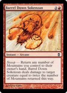 Barrel Down Sokenzan (FOIL)