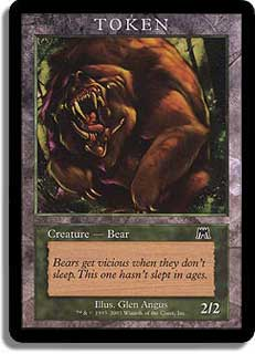 Token - Bear (Onslaught)