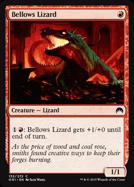 Bellows Lizard (FOIL)