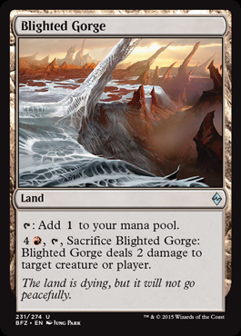Blighted Gorge (FOIL)
