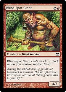 Blind-Spot Giant (FOIL)