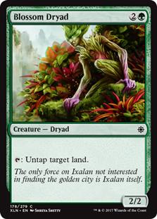 Blossom Dryad (FOIL)
