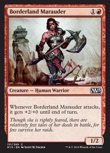 Borderland Marauder (FOIL)