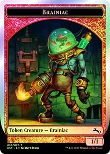 Brainiac Token - 010/020 (Unstable)
