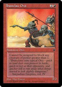 Brassclaw Orcs (Dan Frazier)