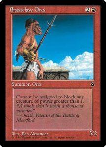 Brassclaw Orcs (Rob Alexander - Spear)