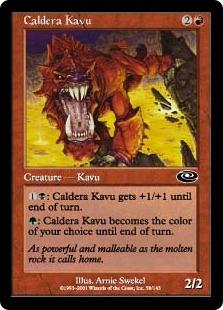 Caldera Kavu (FOIL)