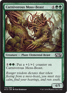 Carnivorous Moss-Beast (FOIL)