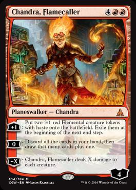 Chandra, Flamecaller (FOIL)