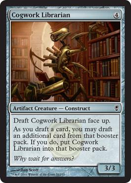 Cogwork Librarian (FOIL)