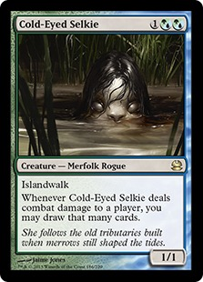 Cold-Eyed Selkie