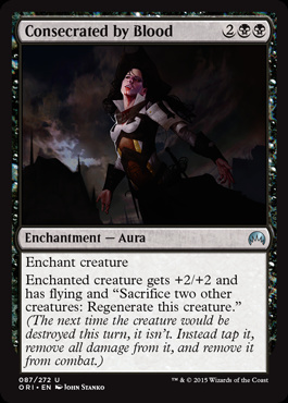 Consecrated by Blood (FOIL)