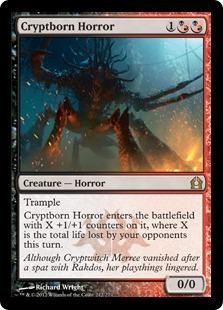 Cryptborn Horror (FOIL)
